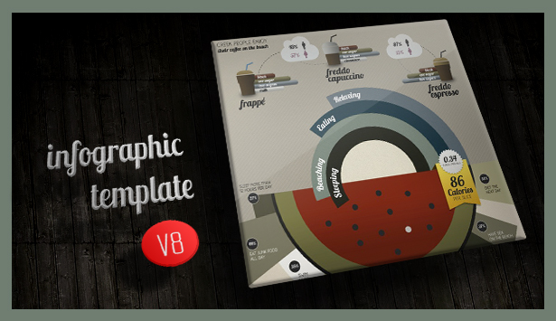 Infographic Elements + Template - 3