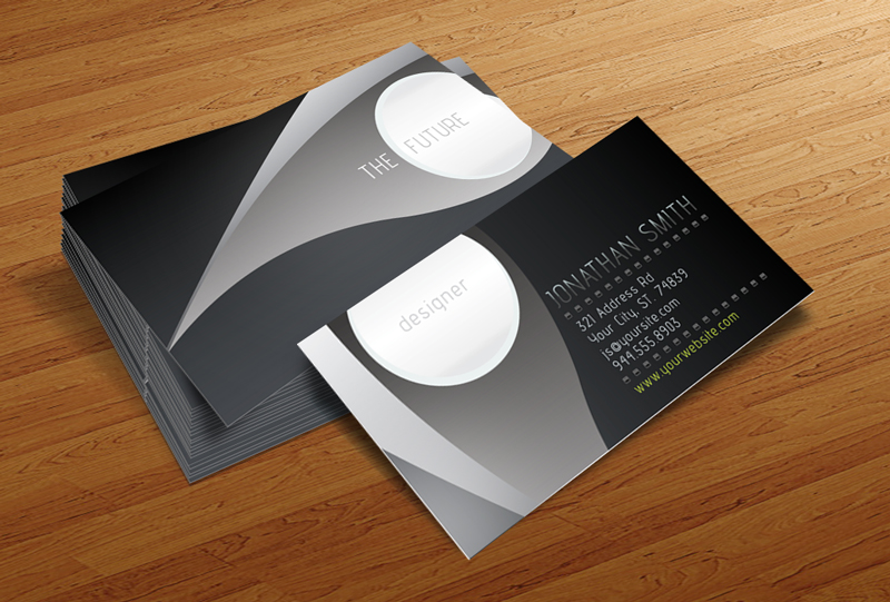 Future - Free Business Card Template