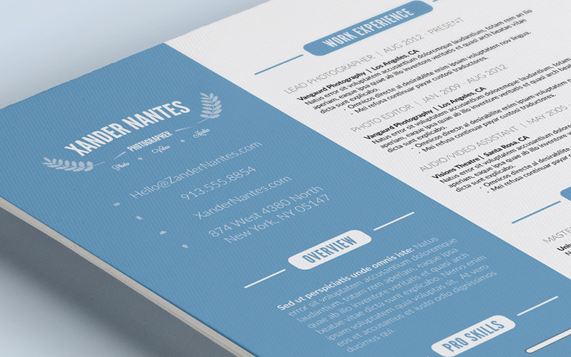 CleanResume_preview4