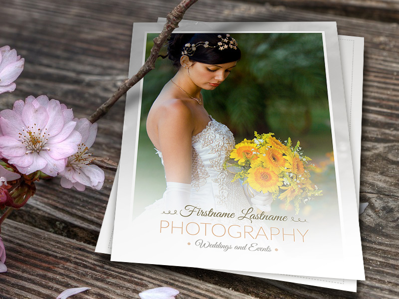 Wedding Photographer Price Guide Template