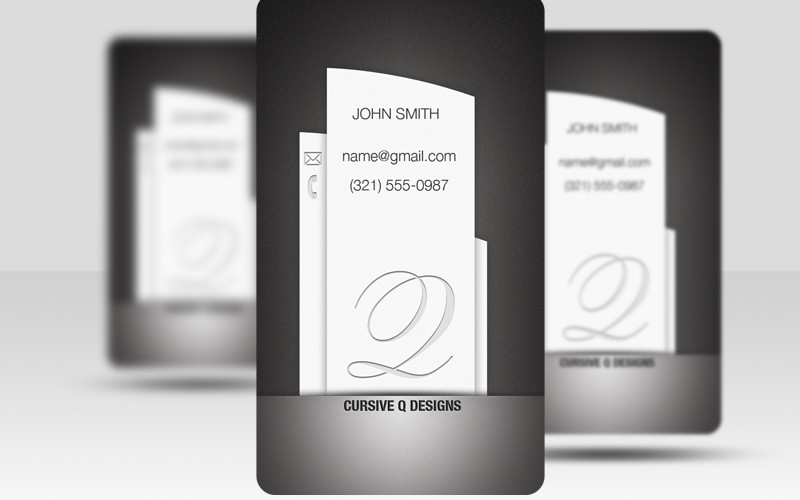 Pillar - Free Business Card Template