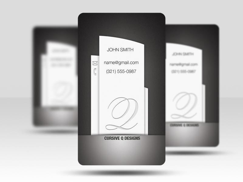 Pillar - Free Business Card Template