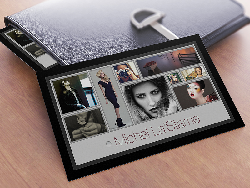 free photographer business card photoshop template v1