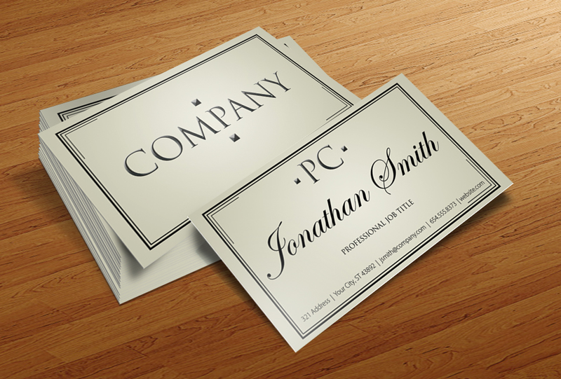 ProCard - Free Business Card Template