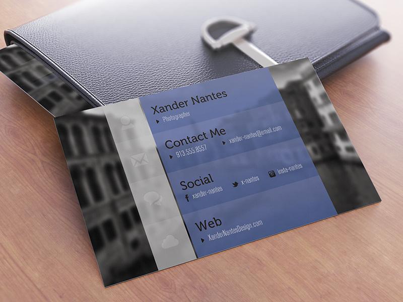 Custom Designer Business Card