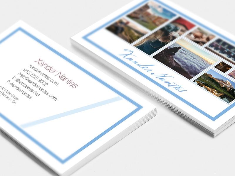 Custom Photographer Business Card