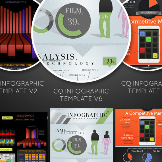 Infographic Elements And Templates 3 Pack Vol. 2