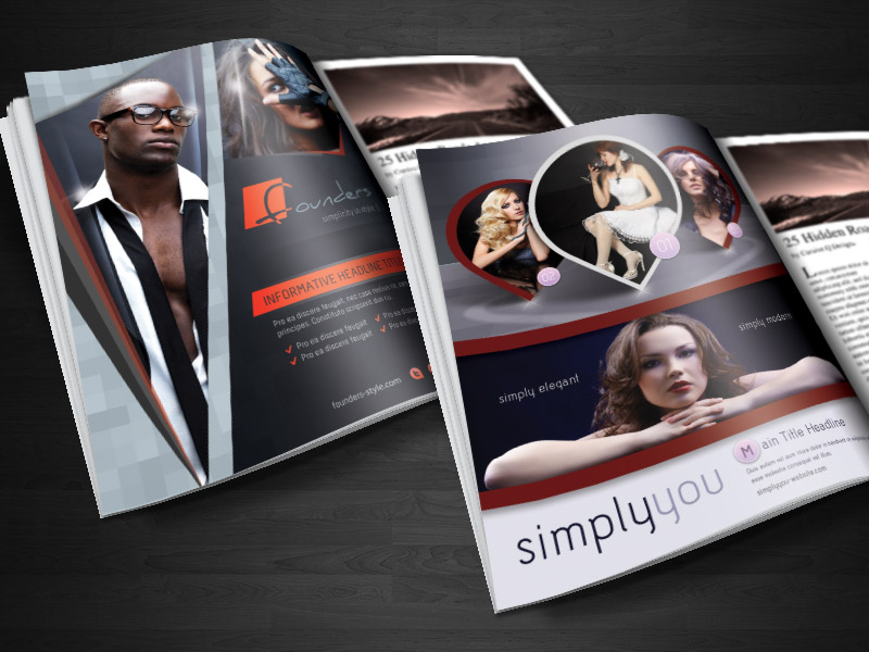 Magazine Ad / Business Flyer Template