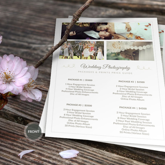 Wedding Photographer Pricing Guide